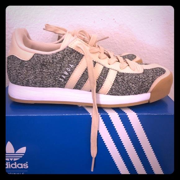 524f60f8 adidas Shoes | Samoa W Tex Linen Gum Womens 6 | Poshmark